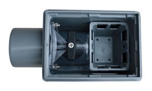 guenstiger Kellerablauf mit Rueckstauverschluss